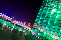 Αυστρία που χτίζει πράσιν&omic Στοκ εικόνες με δικαίωμα ελεύθερης χρήσης