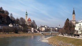 Αυστρία Σάλτζμπουργκ απόθεμα βίντεο