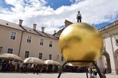 Αυστρία Σάλτζμπουργκ Στοκ φωτογραφία με δικαίωμα ελεύθερης χρήσης