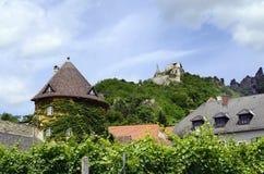 Αυστρία, Duernstein, κοιλάδα Δούναβη Στοκ Φωτογραφίες