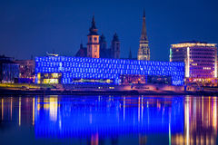 Αυστρία, linz, μουσείο lentos Στοκ φωτογραφία με δικαίωμα ελεύθερης χρήσης