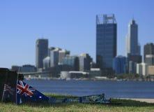 Αυστραλία ημέρα Περθ Στοκ Εικόνα