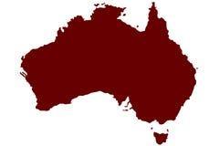 Αυστραλία διανυσματική απεικόνιση
