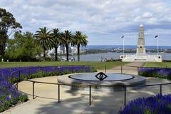 Αυστραλία, WA, Περθ, πολεμικό μνημείο στο πάρκο βασιλιάδων στοκ φωτογραφίες με δικαίωμα ελεύθερης χρήσης