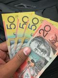 αυστραλιανά δολάρια Στοκ Εικόνες