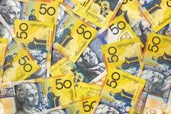 αυστραλιανά χρήματα Στοκ φωτογραφίες με δικαίωμα ελεύθερης χρήσης