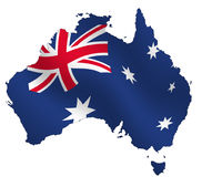 αυστραλιανά διανυσματική απεικόνιση