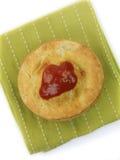 αυστραλιανή πίτα κρέατος Στοκ Φωτογραφία