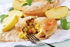 αυστραλιανή πίτα μήλων Στοκ Εικόνα