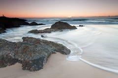 αυστραλιανή seascape ανατολή Στοκ φωτογραφία με δικαίωμα ελεύθερης χρήσης