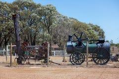 Αυστραλιανός εξοπλισμός μεταλλείας πολύτιμων λίθων εγκαταλειμμένος τομείς στοκ φωτογραφία με δικαίωμα ελεύθερης χρήσης