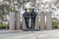 Αυστραλιανό μνημείο στρατού, Καμπέρρα, Αυστραλία Στοκ Εικόνες