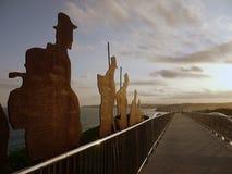 Αυστραλία: Αναμνηστική γέφυρα Νιουκάσλ ANZAC Στοκ Φωτογραφίες