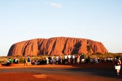 Αυστραλία Βόρεια Περιοχών Uluru Στοκ Φωτογραφία