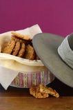 Αυστραλιανά μπισκότα Anzac Στοκ Εικόνα