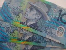 αυστραλιανά δολάρια Στοκ Φωτογραφίες