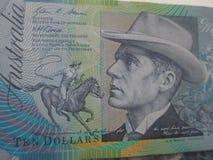 αυστραλιανά δολάρια Στοκ εικόνες με δικαίωμα ελεύθερης χρήσης