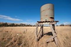 Αυστραλιανή αγροτική σκηνή Στοκ εικόνες με δικαίωμα ελεύθερης χρήσης