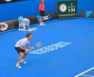 Αυστραλιανή ανοικτή αντιστοιχία αντισφαίρισης στοκ φωτογραφίες