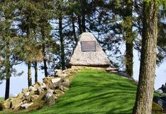 Αυστραλιανό αυτοκρατορικό μνημείο τμήματος δύναμης 29ο, Somme, Γαλλία Στοκ φωτογραφία με δικαίωμα ελεύθερης χρήσης