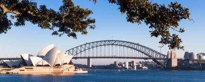 Αυστραλιανό κτήριο ορόσημων, η Όπερα του Σίδνεϊ Στοκ Φωτογραφία
