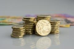 Αυστραλιανό νόμισμα Στοκ εικόνα με δικαίωμα ελεύθερης χρήσης