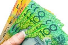 Αυστραλιανό νόμισμα Στοκ Φωτογραφίες