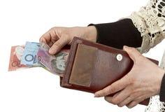Αυστραλιανό δολάριο Στοκ Εικόνα