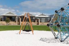 Αυστραλιανό προάστιο με τη νέα παιδική χαρά Στοκ φωτογραφίες με δικαίωμα ελεύθερης χρήσης