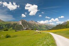 αυστριακά βουνά Στοκ Φωτογραφία