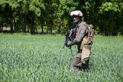 Αυστριακές ειδικές δυνάμεις Jagdkommando στοκ εικόνες