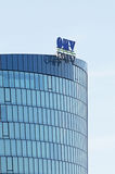 Αυστριακές πετρέλαιο και εταιρεία φυσικού αερίου OMV Στοκ Εικόνα