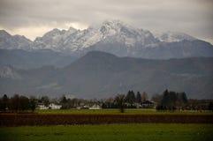 Αυστριακή θέα βουνού Στοκ Εικόνες