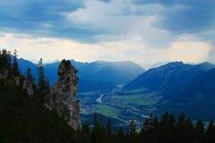 Αυστριακή κοιλάδα Στοκ φωτογραφίες με δικαίωμα ελεύθερης χρήσης