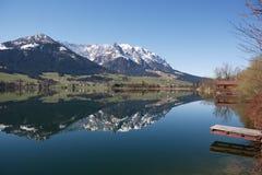 αυστριακή λίμνη Στοκ Φωτογραφίες