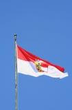 αυστριακή σημαία Στοκ φωτογραφίες με δικαίωμα ελεύθερης χρήσης
