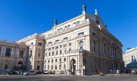 Αυστριακό εθνικό θέατρο στη Βιέννη στοκ εικόνες με δικαίωμα ελεύθερης χρήσης