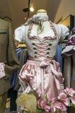 Αυστριακό παραδοσιακό φόρεμα Στοκ Φωτογραφία