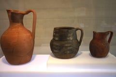 Αυτά είναι δοχεία στο μουσείο Medina Azahara Στοκ Εικόνες