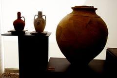 Αυτά είναι μεγάλα δοχεία στο μουσείο Medina Azahara Στοκ φωτογραφία με δικαίωμα ελεύθερης χρήσης