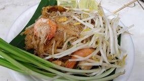 Αυτά τα ταϊλανδικά τρόφιμα είναι μαξιλάρι Ταϊλανδός Στοκ φωτογραφία με δικαίωμα ελεύθερης χρήσης