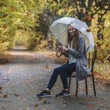 Αυτή βροχή φθινοπώρου Στοκ φωτογραφία με δικαίωμα ελεύθερης χρήσης