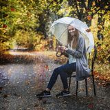 Αυτή βροχή φθινοπώρου Στοκ Φωτογραφίες