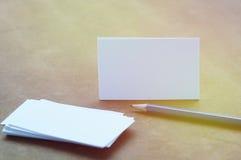 Αυτή η παρουσίαση επαγγελματικών καρτών για την προώθηση στοκ εικόνες