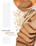 αυτιά ψωμιού στοκ εικόνες