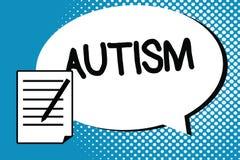 Αυτισμός γραψίματος κειμένων γραφής Έννοια που σημαίνει τη δυσκολία με την αλληλεπίδραση και διαμόρφωση των υποθέσεων με άλλη παρ ελεύθερη απεικόνιση δικαιώματος