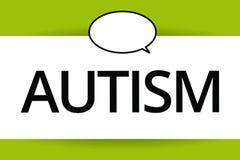 Αυτισμός κειμένων γραψίματος λέξης Επιχειρησιακή έννοια για τη δυσκολία με την αλληλεπίδραση και διαμόρφωση των υποθέσεων με άλλη ελεύθερη απεικόνιση δικαιώματος