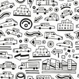 αυτοκίνητα ανασκόπησης άν&e Στοκ φωτογραφίες με δικαίωμα ελεύθερης χρήσης