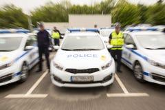 Αυτοκίνητα αστυνομικών Στοκ φωτογραφίες με δικαίωμα ελεύθερης χρήσης