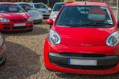 Αυτοκίνητα για την πώληση Στοκ εικόνες με δικαίωμα ελεύθερης χρήσης